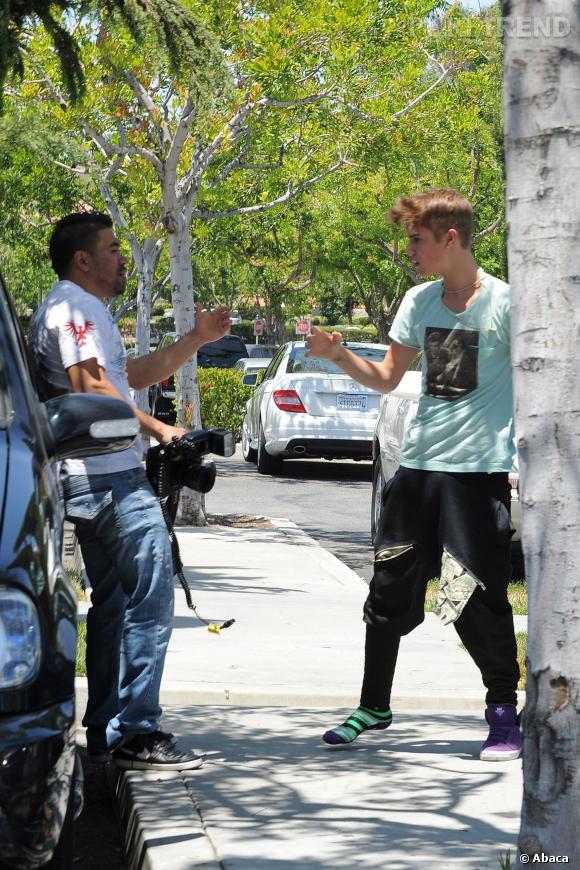 En 2012, Justin Bieber s'est bagarré avec un photographe.
