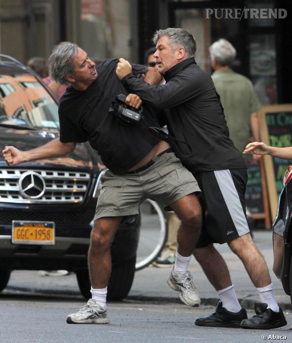 En juin dernier, Alec Baldwin en est venu aux mains avec un paparazzi.