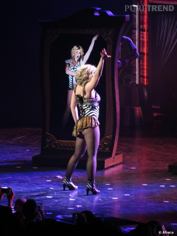 Le show a bien failli virer au drame pour Britney Spears.