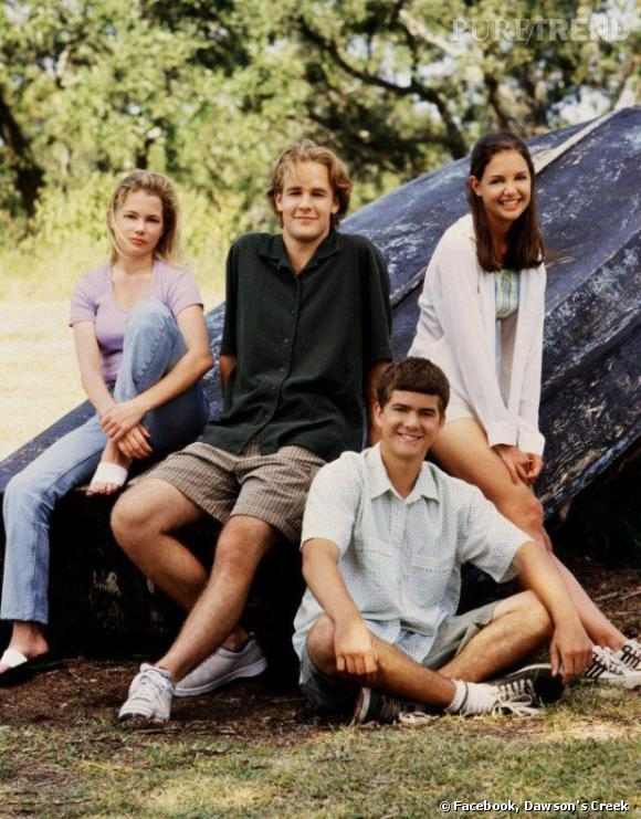 """""""Dawson"""", la série qui a bercé l'adolescence de plus d'un d'entre nous avec Katie Holmes,  James Van Der Beek, Michelle Williams  et Joshua Jackson."""