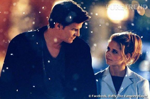 L'histoire d'amour impossible entre le vampire Angel et la tueuse de vampire Buffy a été l'une des plus jolies histoires du petit écran.