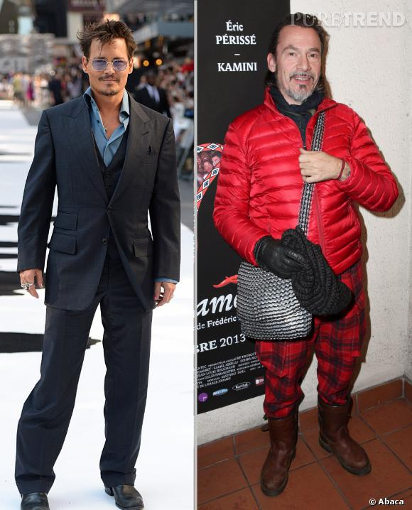 Johnny Depp et Florent Pagny sont sortis avec...