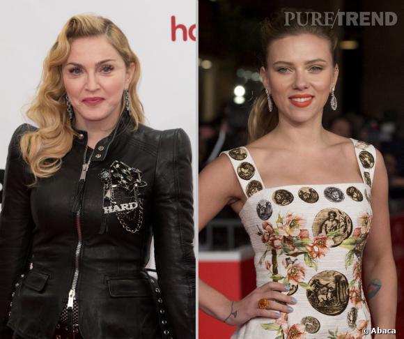Madonna et Scarlett Johansson sont sorties avec...