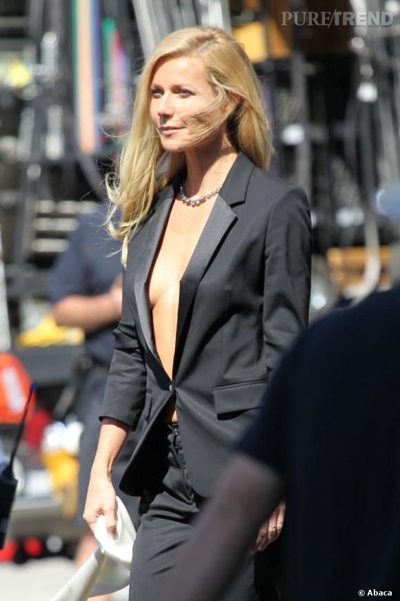 Gwyneth Paltrow a les joues creusées... Pas étonnant si elle suit scrupuleusement sa diète du mois de janvier !