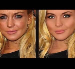 Lindsay Lohan, Angelina Jolie... le vrai visage des stars avant Photoshop