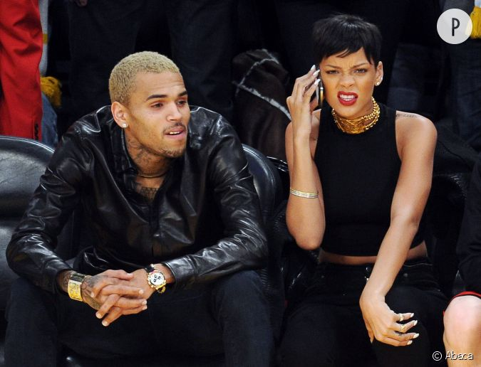 Rencontre rihanna et chris brown