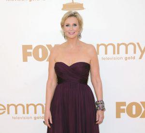 """Jane Lynch, la coach faussement méchante de """"Glee"""", est un coeur à prendre."""