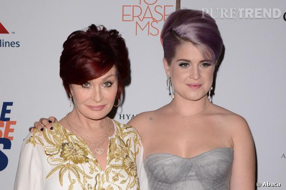 Kelly Osbourne et sa mère Sharon lancent une collection de maquillage avec Mac.