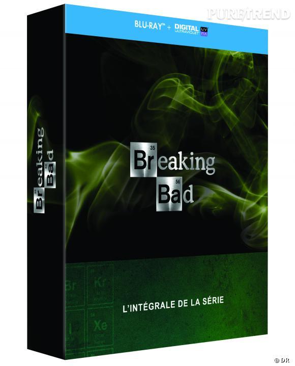 """""""Breaking Bad"""" l'intégral pour 84.99 € ou le final pour 24.99 € (29 €) le Blu-Ray."""