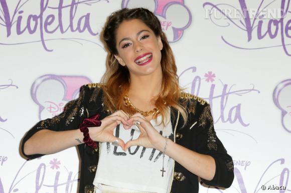 Martina Stoessel alias Violetta Castilla la nouvelle idole des 8-12 ans.