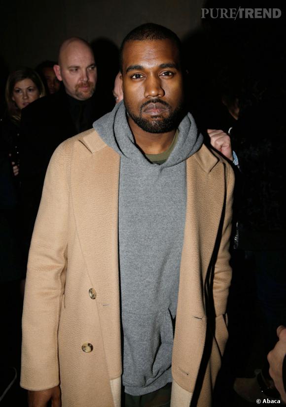 Kanye West invité du Grand Journal se confie sur son amour de la France.