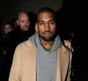 Kanye West sur le plateau du Grand Journal de Canal + du lundi 20 janvier 2014.