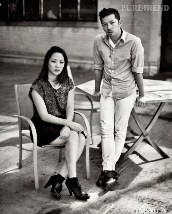 Carol Lim et Humberto Leon, présidents du jury de la 29ème édition du Festival International de mode de Hyères.