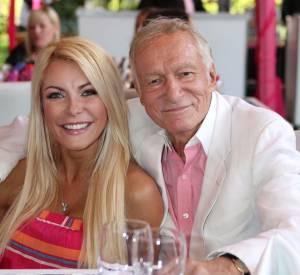 Hugh Hefner et sa femme, de 50 ans sa cadette.