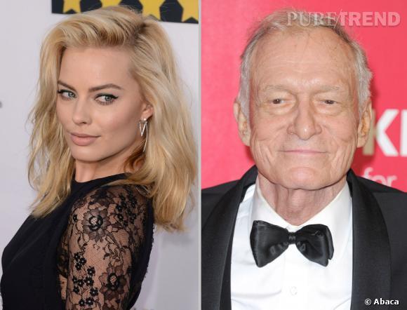 Margot Robbie, bientôt dans Playboy ? Hugh Hefner en rêve.