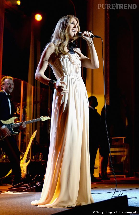Céline Dion a fait le show avec élégance aux Luminary Awards 2014.