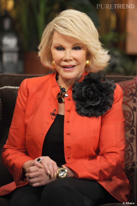 Joan Rivers, la vipère d'Hollywood a 80 ans.