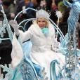 Joan Rivers, reine de l'hiver lors de la parade organisée en novembre 2010 à New York.