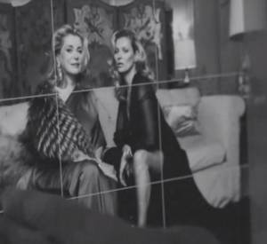 Behind the Scenes du shooting pour Vanity Fair avec Catherine Deneuve et Kate Moss.