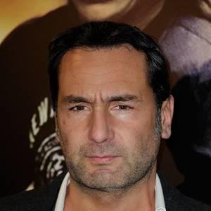 """Gilles Lellouche à l'avant-première de """"Mea Culpa"""", au cinéma Gaumont Capucine."""