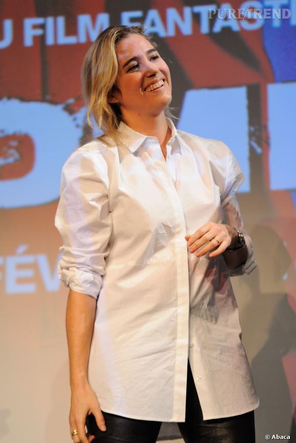 Vahina Giocante l'une des reines de l'horreur de ce Festival 2014.