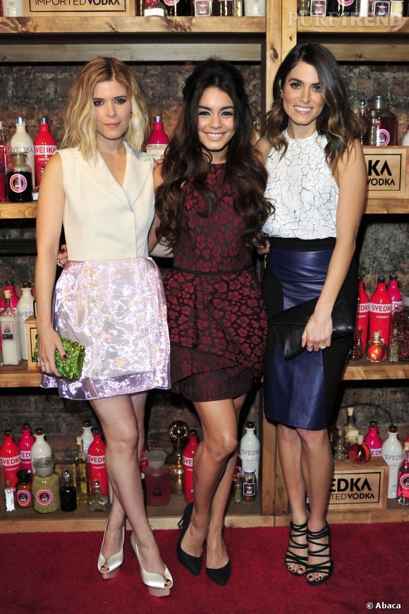 Kate Mara, Vanessa Hudgens et Nikki Reed.