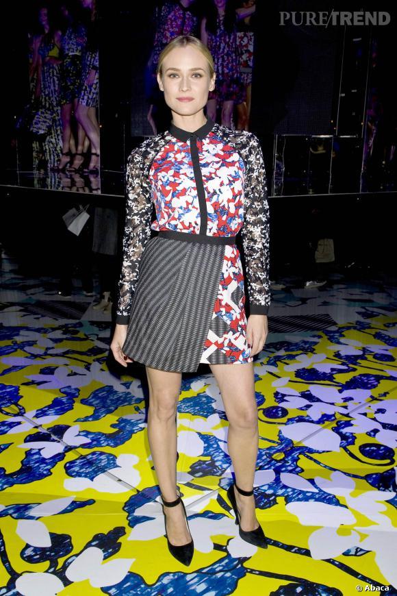 Diane Kruger mériterait le statut d'icône mode et beauté.