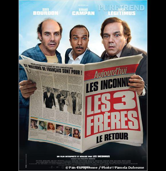 """""""Les Trois Frères, le retour"""", au cinéma le 12 février."""