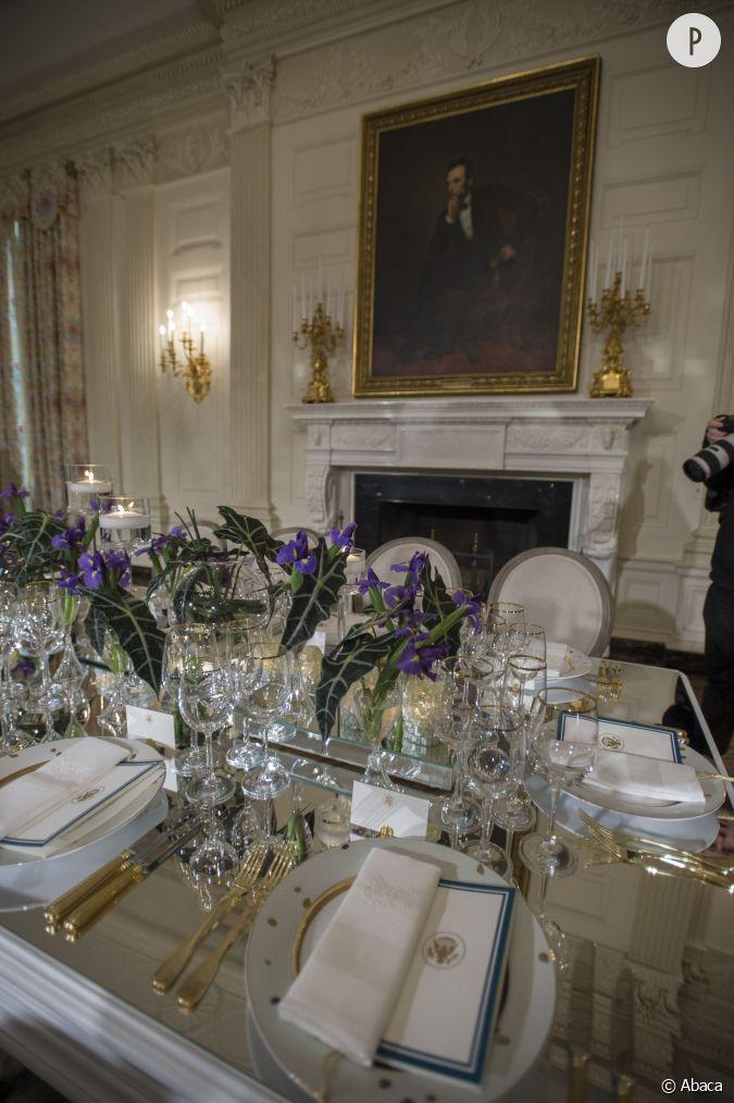 D ner la maison blanche du caviar au programme for Au coeur de la maison blanche barack obama
