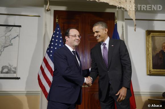 Barack Obama et François Hollande seront réunis ce soir au Dîner de la Maison Blanche.