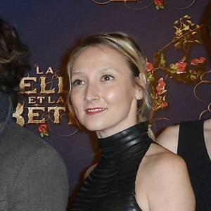 """Audrey Lamy lors de l'avant-première de """"La Belle et la Bête"""" à Paris, dimanche 9 février."""