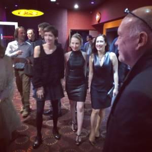 Audrey Lamy a partagé une photo de la soirée avec ses fans.