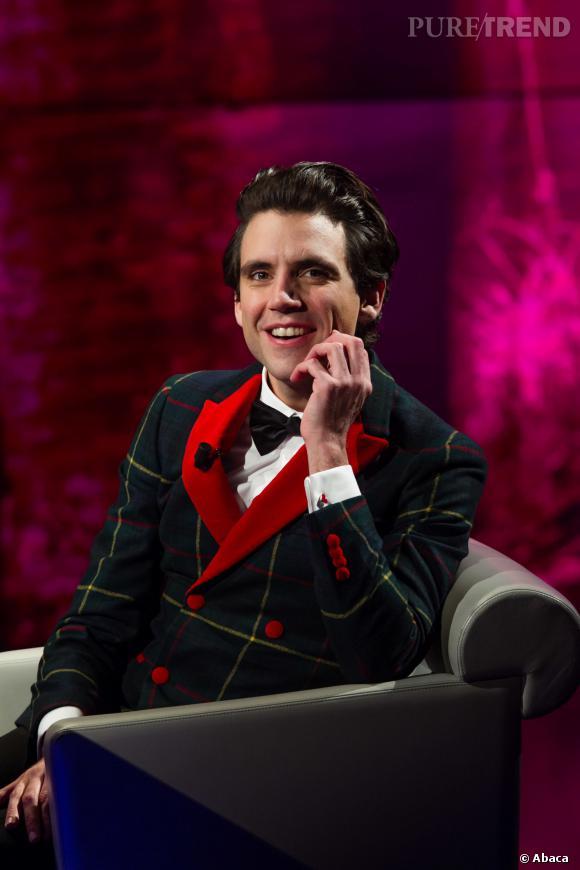 """Mika fait partie du jury de la saison 3 de """"The Voice""""."""