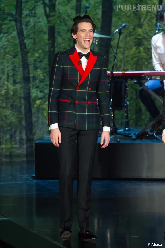 """Mika sera bientôt de retour en direct sur TF1 lors des battles de """"The Voice""""."""