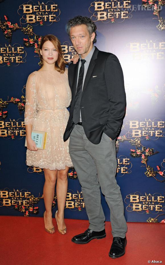 Léa Seydoux et Vincent Cassel, propos indécents et fous rires garantis pour la Boîte à Questions de Canal + le 12 février 2014.