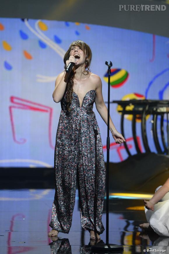 Zaz, plus sexy qye jamais et très décolletée aux Victoires de la musique 2014.