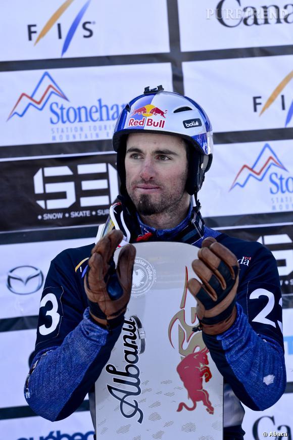 Pierre Vaultier a remporté la médaille d'or en snowboardcross aux JO de Sotchi 2014.
