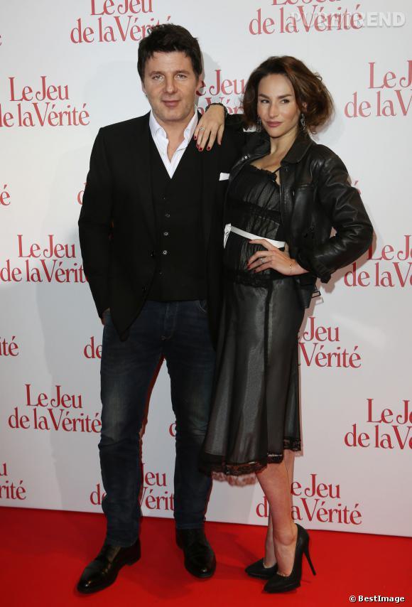 Philippe Lellouche et Vanessa Demouy, couple à la scène comme à la ville.