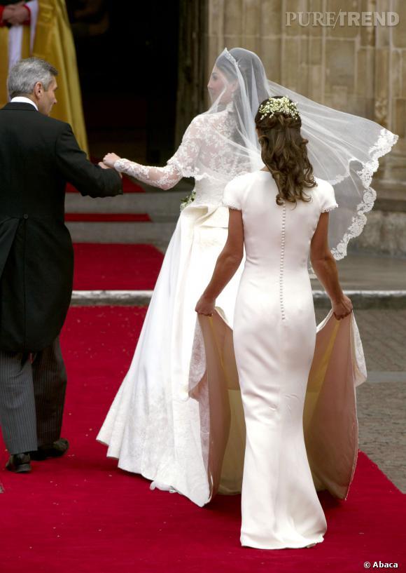 Les fesses de Pippa Middleton ont attiré quasiment toute l'attention lors du mariage de sa soeur.
