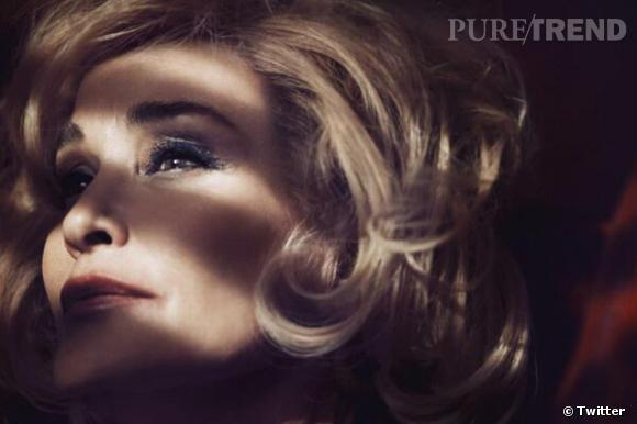 Jessica Lange, visage de Marc Jacobs Beauty.