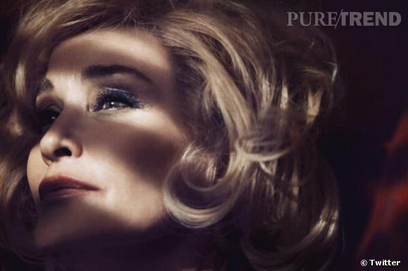 Jessica Lange, visage de Marc Jacobs Beauty.