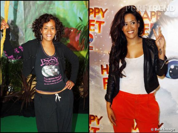 Amel Bent : 2005 vs 2013, la chanteuse a connu une révolution mode !