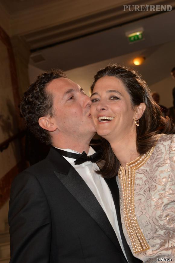 Guillaume Gallienne, heureux et amoureux aux César 2014.