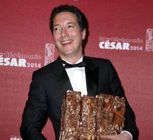 Guillaume Gallienne, l'écrasante domination aux César 2014.