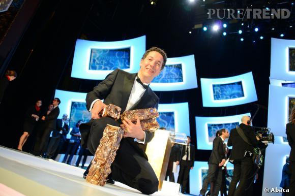Guillaume Gallienne est reparti des César 2014 avec 4 prix !