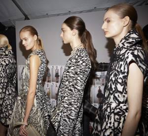 Défilé Giambattista Valli : une ponytail shiny sinon rien !