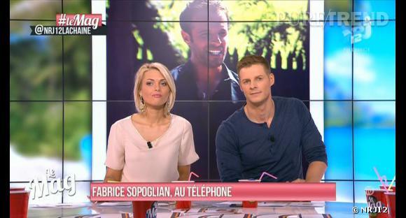 """Caroline Receveur et Matthieu Delormeau ont appelé Fabrice Sopoglian pour entendre quelques uns des secrets du prime des """"Anges de la télé-réalité 6""""."""