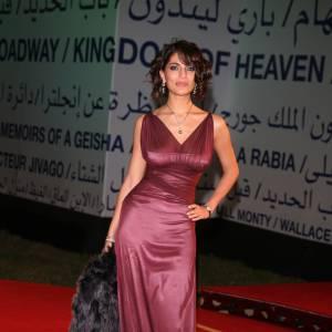Caterina Murino, terriblement sensuelle pour le Festival du Film de Marrakech en 2008.