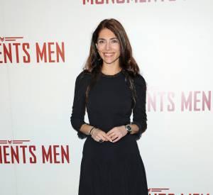 """Caterina Murino à la première du film """"Monuments Men"""", simple et sexy."""