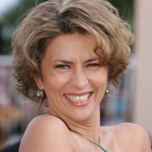 Corinne Touzet, de très bonne humeur lors du Festival de Cannes 2005.